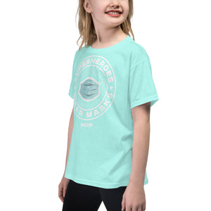 Youth Short Sleeve T-Shirt---SuperheroeS Wear Masks---Click for more shirt colors