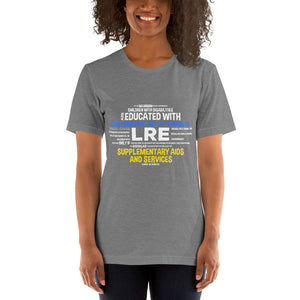 Short-Sleeve Unisex T-Shirt---LRE Word Art---Click for more shirt colors