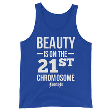 Unisex  Tank Top---Beauty White Design---Click for more shirt colors