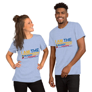 Short-Sleeve Unisex T-Shirt---I Am The Buddy Walk---Click for More Shirt Colors
