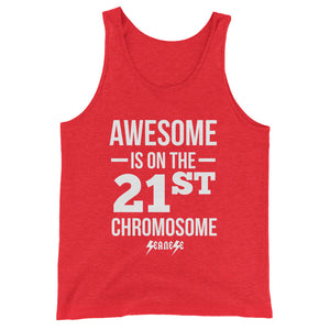 Unisex  Tank Top---Awesome White Design---Click for more shirt colors