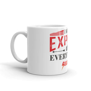 Mug---Expert of Everything Red/Black Design