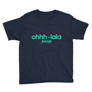 Youth Short Sleeve T-Shirt---Ohhh-lala---Click for more shirt colors