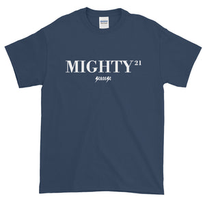 Short sleeve t-shirt Thick Cotton To Make Dad Happy---21Mighty---Click for more shirt colors