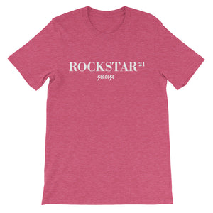 Unisex short sleeve t-shirt---21Rockstar---Click to see more shirt colors