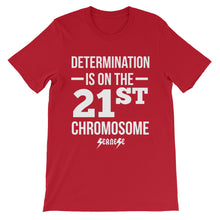 Unisex short sleeve t-shirt---Determination White Design---Click for more shirt colors