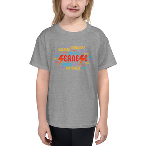 Youth Short Sleeve T-Shirt---Seanese Languages---Click for more shirt colors