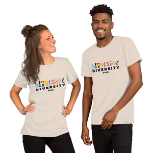 Unisex Short Sleeve T-Shirt--Diversity---Click for more shirt colors