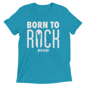 Upgraded Soft Short sleeve t-shirt---Born To Rock---Click for more shirt colors