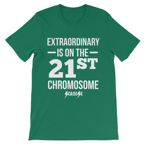 Unisex short sleeve t-shirt---Extraordinary White Design---Click for more shirt colors