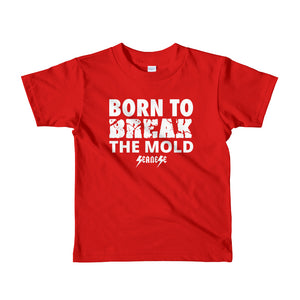 Toddler Short sleeve kids t-shirt---Born to Break the Mold---Click for more shirt colors