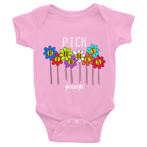 Infant Bodysuit---Pick Kindness---Click to see more shirt colors