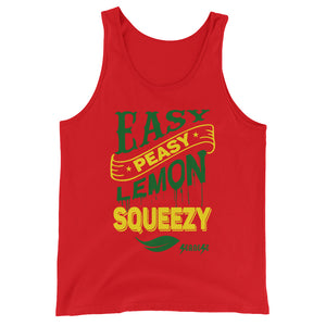 Unisex  Tank Top---Easy Peasy Lemon Squeezy---Click for more shirt colors