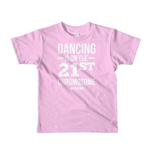 Toddler Short sleeve kids t-shirt---Dancing---Click for more shirt colors