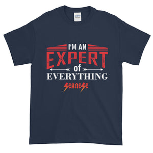 Short-Sleeve T-Shirt Thick Cotton to Make Dad Happy---Expert of Everything---Click for more shirt colors