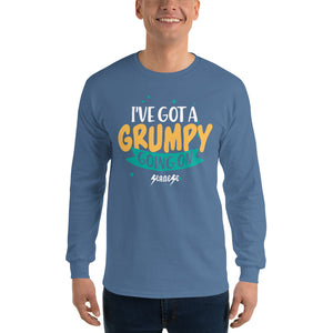 Men's Long Sleeve Shirt---I've Got A Grumpy Going On---Click for more shirt colors