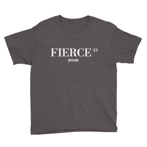 Youth Short Sleeve T-Shirt---21Fierce---Click for more shirt colors