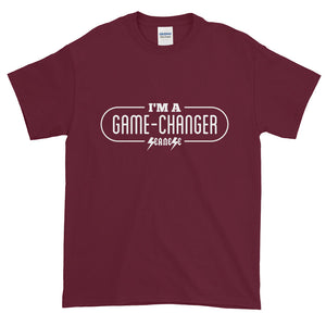 Short-Sleeve T-Shirt Thick Cotton to Make Dad Happy---I'm A Game-Changer---Click for more shirt colors