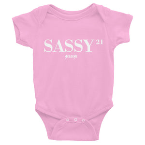 Infant Bodysuit---21Sassy---Click for more shirt colors