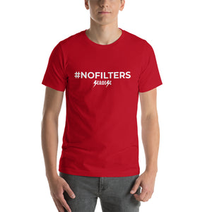 Short-Sleeve Unisex T-Shirt---#NOFILTERS---Click to see more shirt colors