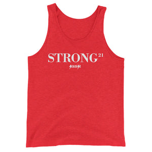 Unisex  Tank Top---21Strong---Click for more shirt colors