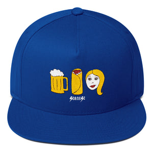 Flat Bill Cap---Best Date Ever---Click to see more hat colors