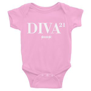 Infant Bodysuit---21 Diva---Click for more shirt colors