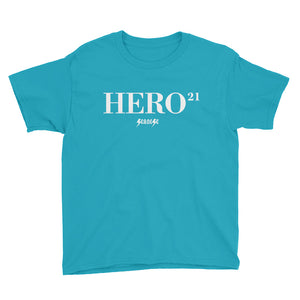 Youth Short Sleeve T-Shirt---21Hero---Click for more shirt colors