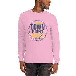 Long Sleeve T-Shirt---I Am Down Right Capable---Click for More Shirt Colors