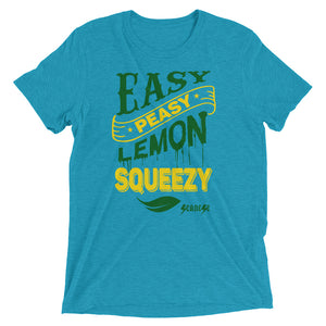 Upgraded Soft Short sleeve t-shirt---Easy Peasy Lemon Squeezy---Click for more shirt colors
