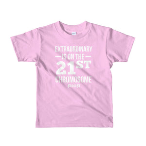 Toddler Short sleeve kids t-shirt---Extraordinary---Click for more shirt colors