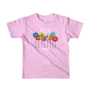 Toddler Short sleeve kids t-shirt---Pick Kindness---Click to see more shirt colors