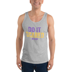 Unisex Tank Top---Do it Scared---Click for more shirt colors
