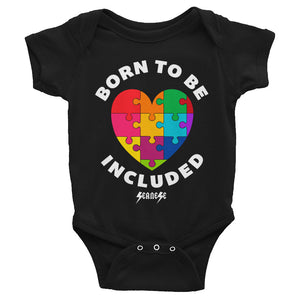 Infant Bodysuit---Born To Be Included--Click for more shirt colors