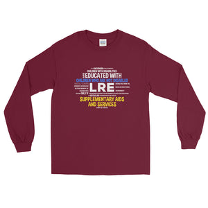 Long Sleeve T-Shirt---LRE Word Art---Click for more shirt colors