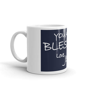 Mug---You Are A Blessing. Love, Jesus