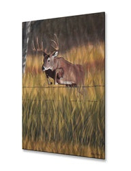 Big Monster Whitetail Buck Deer Metal Wall Art Sculpture