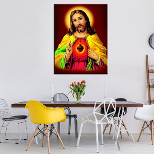 Jesus Christian Religion Canvas Print