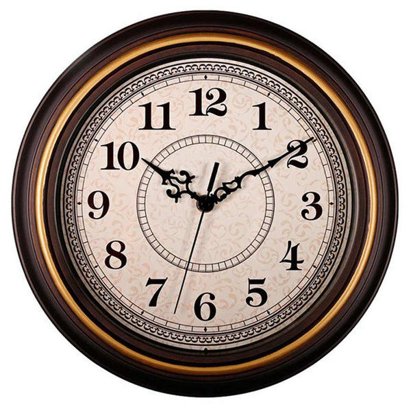 Silent Non Ticking Round Wall Clocks 12 Inch