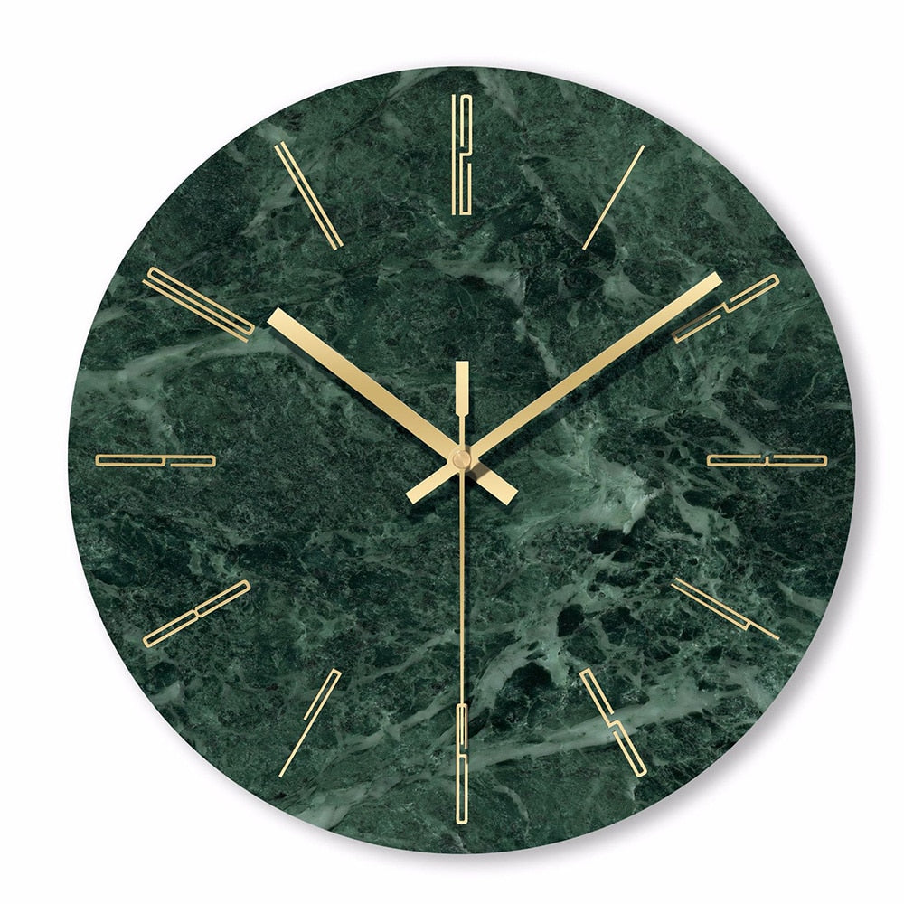 Marble Wall Clock 12