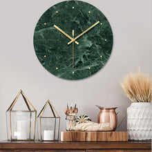 Marble Wall Clock 12""