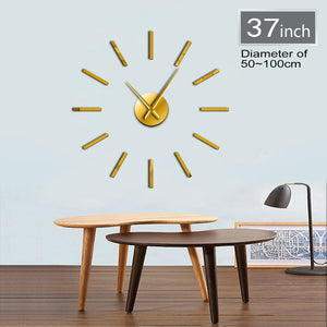 "Simple Round Wall Clock 37"" 47"""