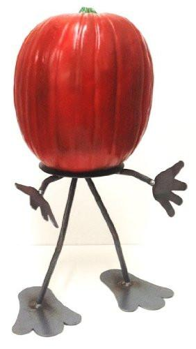 Pun'kin Head, pumpkin stand - metal accessory, 7055 inc