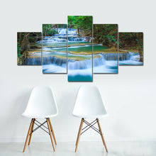 Peaceful Waterfall 5 Pieces