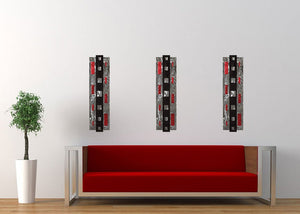 Bypass - metal wall sculpture - 7055 Inc