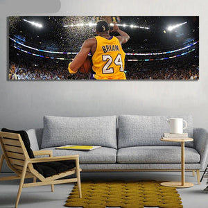 Kobe Bryant Lakers Canvas Print