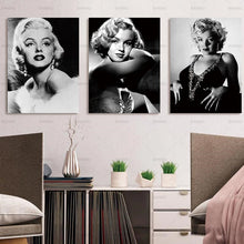 Marilyn Monroe Canvas Print 3 Pieces