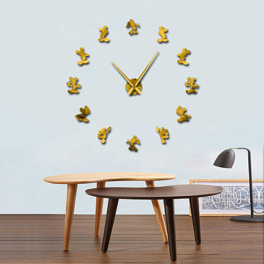 Cartoon Mouse Wall Clock 37 Quot 47 Quot Canvas Frenzy