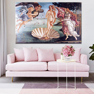 Botticelli's Birth of Venus Poster Canvas Print