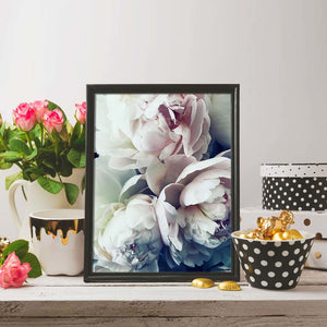 Bloom Peony Nordic Wall Art Flower Canvas Print